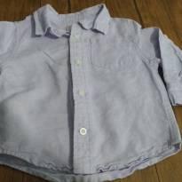 Camisa social Gymboree lilás - 12 a 18 meses - Gymboree