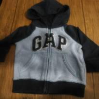 Casaco moletom Baby Gap. Lindo e quentinho. - 12 a 18 meses - Baby Gap