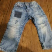 Linda calça  jeans Zara Baby, super estilosa. - 9 a 12 meses - Zara Baby