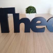 Nome de madeira Theo -  - Não informada