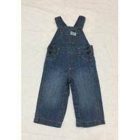 Macacão Jeans Handsome - 9 meses - Carter`s