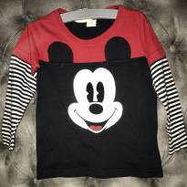 Blusa manga comprida Mickey Mouse - 2 anos - Disney baby
