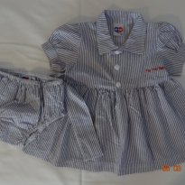 Vestido Listradinho Tip Top - 3 a 6 meses - Tip Top