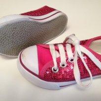 Tenis Pink Só Socks - 20 - Só Socks