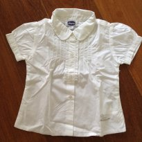 Camisa branca Chicco - 1 ano - Chicco