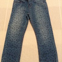 Calça jeans oncinha Zara - 2 anos - Zara