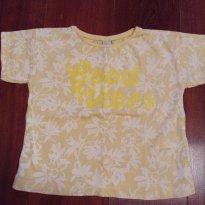 Blusa amarela Zara - 24 a 36 meses - Zara