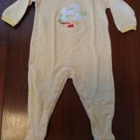 Macacão amarelo Chicco - 6 a 9 meses - Chicco