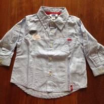 Camisa listrada Chicco - 9 meses - Chicco