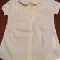 Camisa listrada rosa Chicco - 2 anos - Chicco