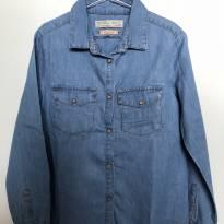Camisa Jeans Zara - 7 anos - Zara