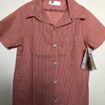 Camisa xadrez Hippie Chic - 6 anos - Hippychick