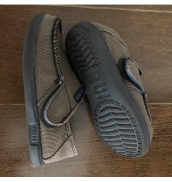 Crocs mocassim de lona - 30 - Crocs