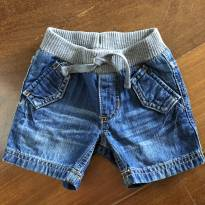 Bermuda jeans Gap - 6 a 9 meses - Baby Gap