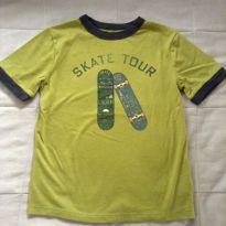 Camiseta silk skate Gap - 6 anos - GAP