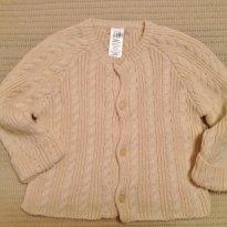Casaco de tricot Gap - 3 a 6 meses - Baby Gap