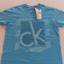 Camiseta Calvin Klein 8 - 8 anos - Calvin Klein