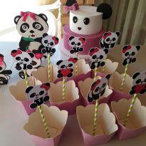 Kit Festa Panda -  - Não informada