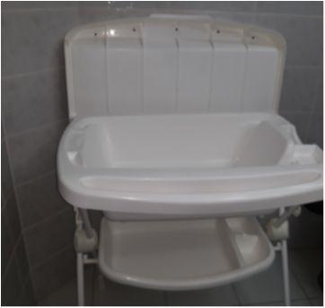 Banheira com trocador - Sem faixa etaria - Burigotto