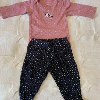 conjunto pinguins - 3 meses - Carter`s