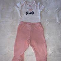 Conjunto I love daddy - 3 meses - Carter`s