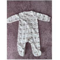 Macacão de zíper fleece ovelhas - 6 meses - Carter`s