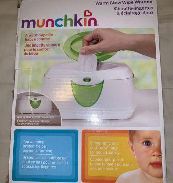 Aquecedor de lenços umedecidos Munchkin - Sem faixa etaria - Munchkin