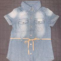 Camisa jeans Seven - 9 a 12 meses - Seven for all Mankind