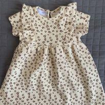 vestido oncinha Zara - 12 a 18 meses - Zara Baby