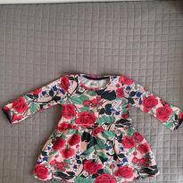 Vestido floral - 1 ano - PUC