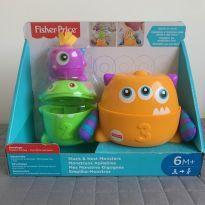 brinquedo monstrinhos Fisher Price - NA CAIXA, NUNCA USADO!