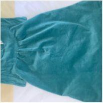 Vestido veludo azul Gymboree - NUNCA USADO! - 12 a 18 meses - Gymboree