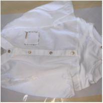 Body tipo camisa social - 12 a 18 meses - Amimê