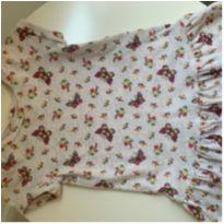 vestido flores e borboletas Gap - 12 a 18 meses - Baby Gap