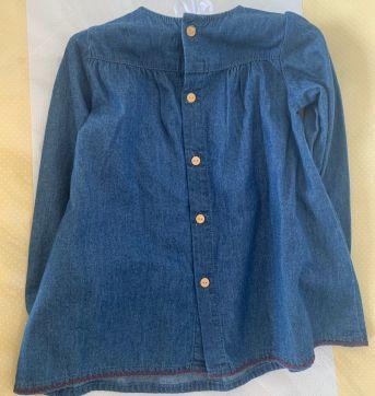 vestido jeans Zara - 12 a 18 meses - Zara Baby