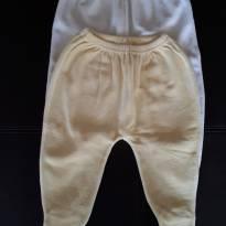 Kit 2 calças de plush - 3 meses - Não informada