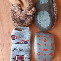 Meias emborrachadas - 1 ano - Baby Gap e Puket