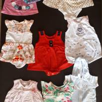 Kit roupa de menina 3 meses 11 peças - 3 meses - Não informada