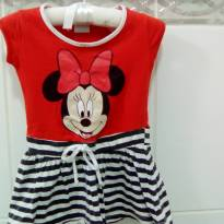 Vestido Minnie - 1 ano - Disney