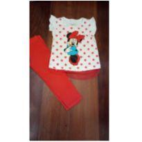Conjunto Minnie - 2 anos - Disney