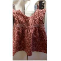 Vestido Bolinhas com Calcinha - 6 meses - Tip Top