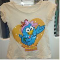 4 Camisetas Galinha Pintadinha,  Minnie e Kyly - 1 ano - Kyly e Milon