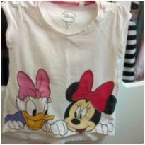 4 Camisetas Minnie e Margarida - 1 ano - Disney