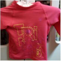 Camisa Manga Longa proteção UV - 6 meses - Tribord