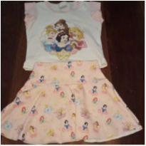 Conjunto Princesas Disney - 2 anos - Tricae