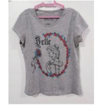 Camiseta Princesa Bela - 10 anos - Disney