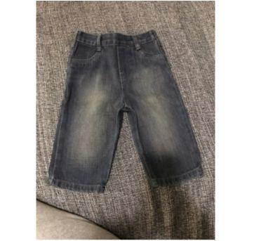Calça jeans escura Calvin Klein - 6 a 9 meses - Calvin Klein