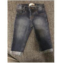 Calça jeans maleavel - 6 a 9 meses - baby Demim