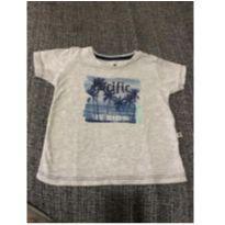 Camisa de malha estampada - 9 a 12 meses - Teddy Boom
