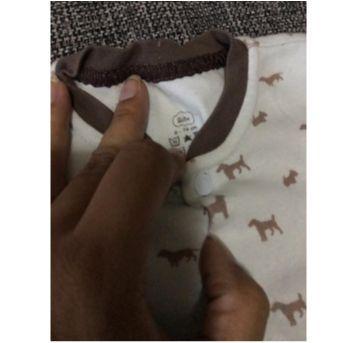 Macacão de malha cachorrinho - 9 meses - BIBE
